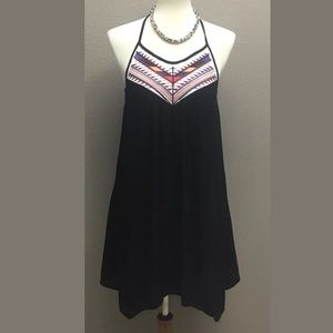 The Impeccable Pig Black Sundress Size Small